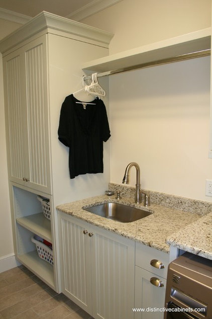 Traditional Laundry Room by Distinctive Cabinets