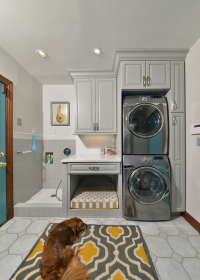 Traditional Laundry Room by Artistic Renovations of Ohio LLC