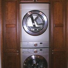 Traditional Laundry Room by Marina V. Phillips