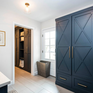 Dramatic Mudroom and Laundry Renovation