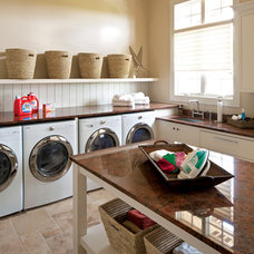 Contemporary Laundry Room by Savvy Decor