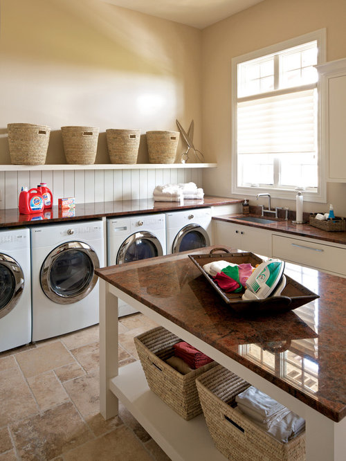 Large Laundry Room Ideas, Pictures, Remodel and Decor
