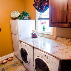Traditional Laundry Room by Brown Wegher Construction