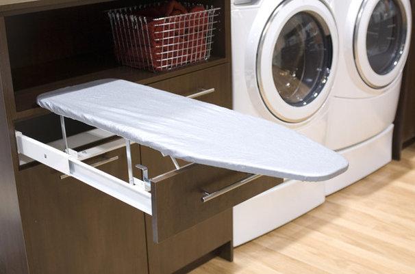 Contemporary Laundry Room by BiglarKinyan Design Planning Inc.