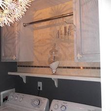 Contemporary Laundry Room DSCF0584.JPG