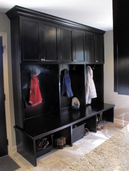 Contemporary Laundry Room by NJW Construction