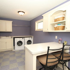 Traditional Laundry Room by LDK Homes
