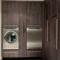 Contemporary Laundry Room by Leicht Westchester Kitchens