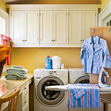Farmhouse Laundry Room by ECOterior Solutions
