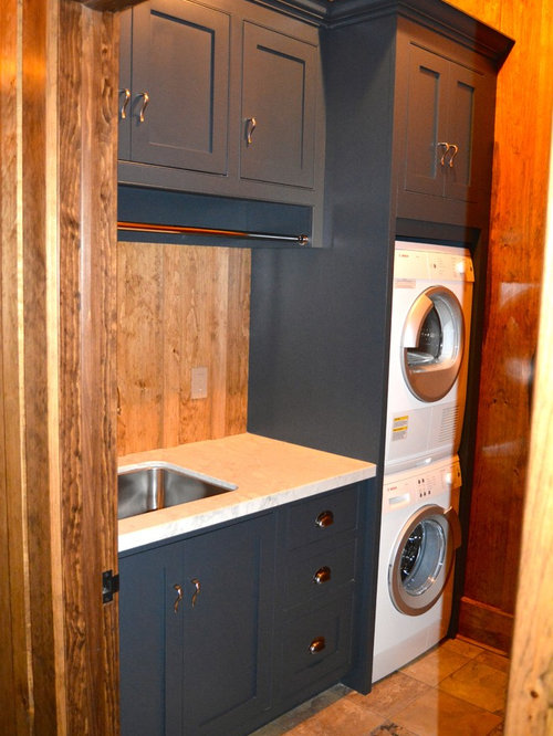 Rustic Cabinets For Laundry Room Design Ideas Remodels Photos With