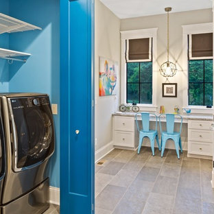 75 Most Popular Laundry Room with White Cabinets Design Ideas for 2018 - Stylish Laundry Room ...