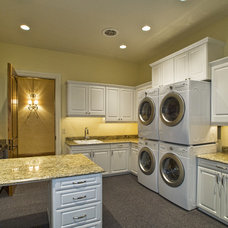 Eclectic Laundry Room by Tradewinds General Contracting, Inc.