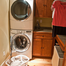 Traditional Laundry Room by Rittenhouse Builders