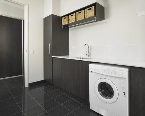 Foto e idee per lavanderie lavanderia moderna central coast for Lavanderia in campagna