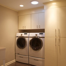 Contemporary Laundry Room by Seabold Architectural Studio