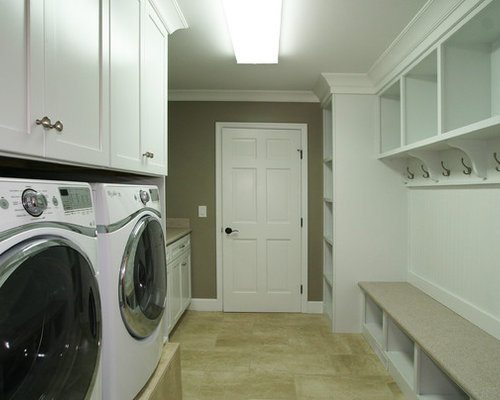 Washer Dryer Configuration Side By Side Laundry Room