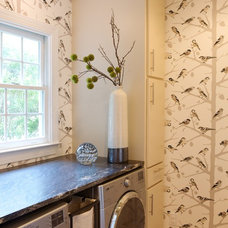 Transitional Laundry Room Eclectic Laundry Room