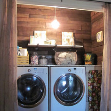 Eclectic Laundry Room Eclectic Laundry Room