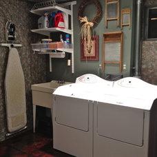 Eclectic Laundry Room Eclectic Laundry Room