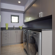 Contemporary Laundry Room by Rosenow | Peterson Design