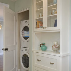 Traditional Laundry Room by Stewart Thomas LLC
