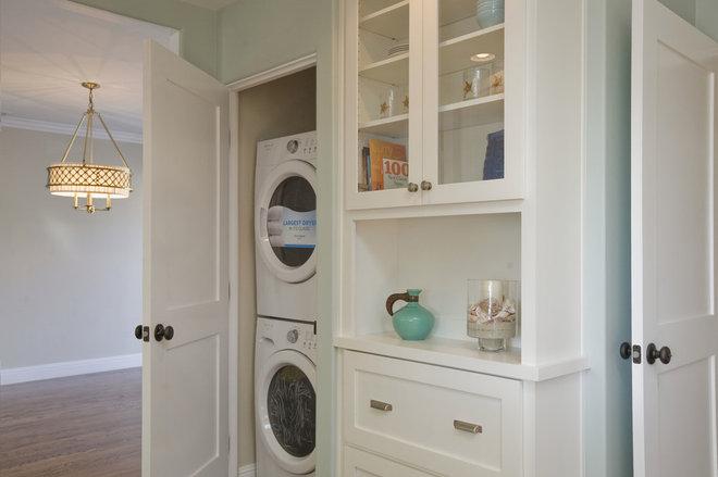 Traditional Laundry Room by Stewart Thomas LLC