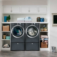 Transitional Laundry Room by Electrolux US