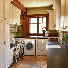 Traditional Laundry Room by Ane Hatch & Associates