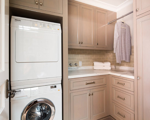 Laundry Room Hang Bar | Houzz