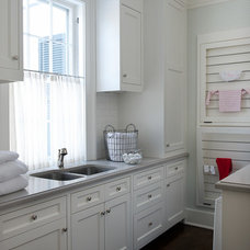 Traditional Laundry Room by Jane Beiles Photography