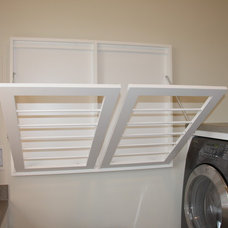 Traditional Laundry Room by Stephanie Watson - Mike's Woodworking, Inc.