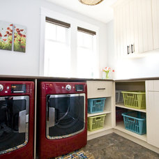 Modern Laundry Room by Starline Cabinets