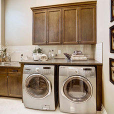 Traditional Laundry Room by Augusta Fine Homes