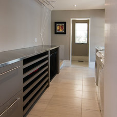 Modern Laundry Room by Centrix Building Group
