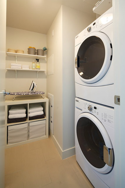 Contemporary Laundry Room by i3 design group