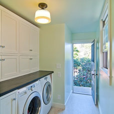 Traditional Laundry Room by McCaffrey Custom Construction, Inc.