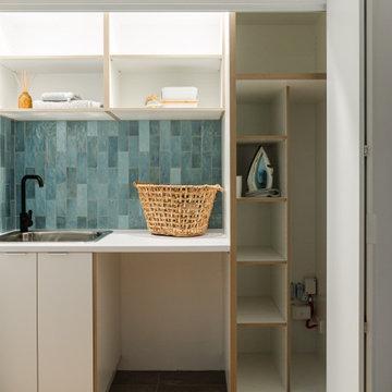 Ensuite, Laundry & Bathroom renovation, Northcote
