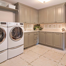 Traditional Laundry Room by Modern Design LLC