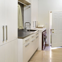 contemporary laundry room by XTC Design Incorporated
