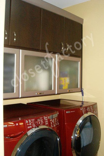 Contemporary Laundry Room by Kay Wade, Closet Factory