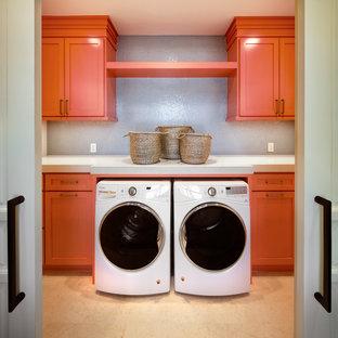 Inspiration för rustika tvättstugor