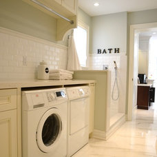 Traditional Laundry Room by Stacy McLennan Interiors