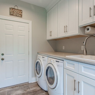 Evandale kitchen, powder room, laundry and mudroom renovation