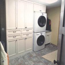 Contemporary Laundry Room Executive Home Laundry 2