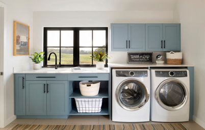 New This Week: 6 Laundry Rooms With Inviting Style