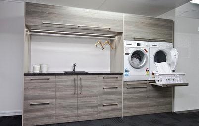 C mo crear una zona de plancha y lavander a bien aprovechada - Cocinas como disenarlas ...