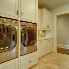 traditional laundry room by Rockwood Custom Homes