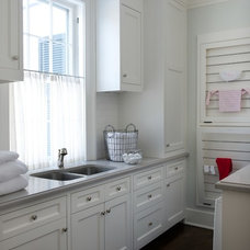Traditional Laundry Room by Elena Phillips Interiors