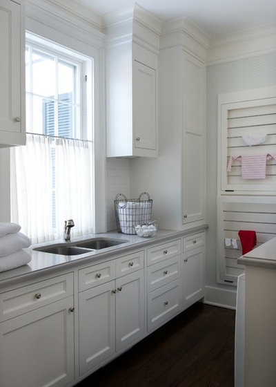 American Traditional Utility Room by Elena Phillips Interiors