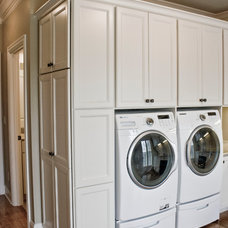 Traditional Laundry Room by Erin Hurst, CKD